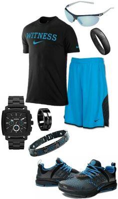 Men's fashion Nike gym outfit