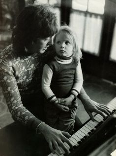 Paul McCartney with little Stella