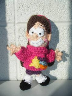 Mabel Pines from Gravity Falls amigurumi