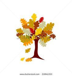 #Autumn #Tree #vector #illustration i