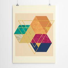Tropical Geometric Art Geometric Art, Art For Sale, Framed Artwork, Giclee Print, Tropical, Fine Art, Texture, Bedroom, Canvas