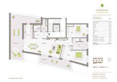 Grundrisse und Baupläne zum Bauvorhaben Stadtgärten Henninger Turm…