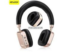 AWEI A900BL Bluetooth Headset Headphones Wireless Headphone Microphone App Control Sport Earphone For iPhone For Android Phone