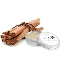 Cinnamon Lip Balm by Vegan Tree Owl is Gluten Free and Vegan.