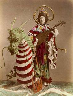 From the studio of T Enami, Yokohama, ca. 1910-1920
