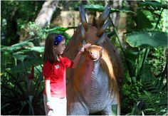 Dinosaur World, Kentucky - pets allowed, bring in food/none on site, kids areas, military discounts