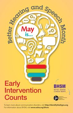 May is Better Hearing and Speech Month! Ideas from ASHA - pinned by – Please Visit for all our pediatric therapy pins Speech Pathology, Speech Language Pathology, Speech And Language, Speech Therapy, Love Speech, Speech And Hearing, Communication Development, Therapy Activities, Speech Activities