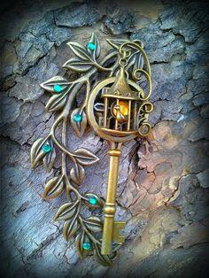 Garden lamp fantasy key