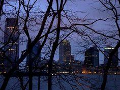 New Jersey vista do Battery Park.