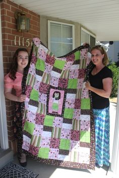 LDS sister missionary quilt   Made from skirts after my mission??