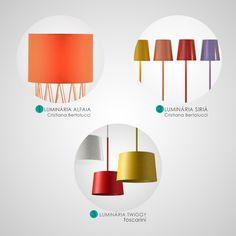 Luminárias monocromáticas Ideally!