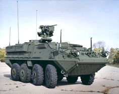 The Infantry Carrier Vehicle (ICV) is an armoured personnel carrier and part of the Stryker family of vehicles (derived from the Canadian LAV III/Swiss MOWAG Piranha IIIH used by the United States Army and Royal Thai Army. Army Vehicles, Armored Vehicles, Tank Armor, Armoured Personnel Carrier, Armored Truck, Military Armor, Military Car, Armored Fighting Vehicle, United States Army