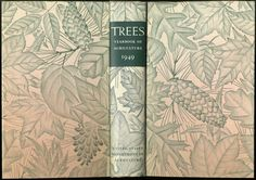 Trees: The Yearbook of Agriculture, 1949 cover artist unknown. | via State Library Of Masschusetts.