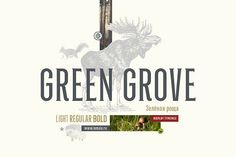 Green Grove by Type to go on @creativemarket
