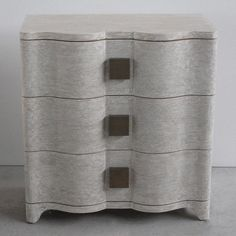 """Master bedroom bedside table Studio A Toile Linen Bedside Chest 28"""" w x 29"""" H x 16"""" D"""