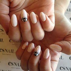 #eye #nails #cute