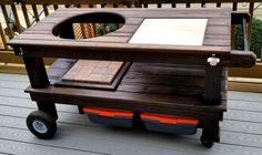 Standard Table - Wood by Dana