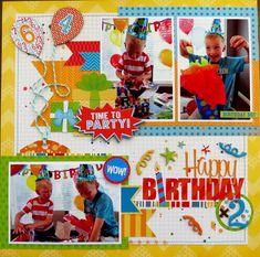 Birthday happy pictures scrapbook layouts 45 ideas for 2019 Birthday Scrapbook Layouts, Baby Boy Scrapbook, Scrapbook Layout Sketches, Scrapbook Albums, Scrapbooking Layouts, Scrapbook Cards, Happy Pictures, Boy Birthday, Happy Birthday