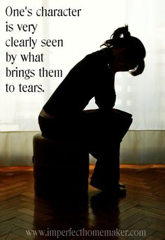 Tears in a Bottle - very thought-provoking post!  http://www.imperfecthomemaker.com/2014/01/tears-in-a-bottle.html