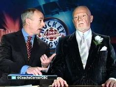 Gotta L-O-V-E Don Cherry! He is one of Canada's treasures -- he makes being outspoken cool. He does have valid points, namely the Toronto Maple Leafs don't have ONE Canadian player, never mind ANY from Ontario. Thankfully shared by pal Dave Reynolds on Twitter or else I would have missed this!    HNIC - Don Cherry Coach's Corner. Cherry Blasting Brian Burke. March 3rd 2012