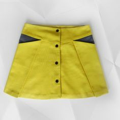 Pocket Fold Skirt | Madeit Patterns in sizes 2 to 10