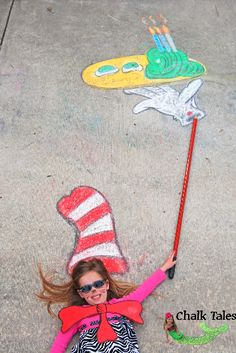 Birthday Wishes (Green Eggs & Ham Style! Chalk Photography, Amazing Photography, Photography Ideas, Chalk It Up, Chalk Art, Chalk Pictures, Cute Photos, Amazing Photos, Chalk Design