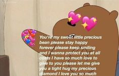 Image about love in Memes by darcy on We Heart It Love You So Much, Just For You, My Love, Memes Amor, Tight Hug, Heart Meme, Cute Love Memes, Cute Couple Memes, Snapchat Stickers