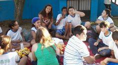 Blog do Inayá: Professora Luzimar Barbosa da Turma 506 comemora com os alunos a Semana da Educação Alimentar