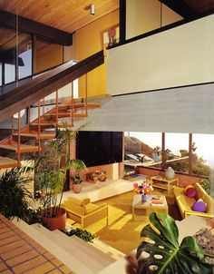 Located in San Clemente, California, the Toland Residence was designed by Raul Garduno in the 1960's. Photo: Julius Shulman | Repinned by 360 Modern Furniture