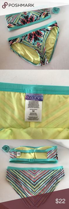 NWT coco rave swim suit Size M bottoms and small top Coco Rave Swim Bikinis