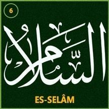ES-SELAM(c.c):Selam,emniyet,güven ve esenlik sahibi,yani her çeşit ayıptan selamette,her türlü afetten beri,emniyet içinde demektir.  Ebced Değeri ve zikir saati:  Bu ismin ebcedi değeri(131)zikri buna göre yapılır.Zikir saatiGüneş'tir.Günüpazardır.  Özellikleri ve faydaları:  İnsanlar arasındaki selamlaşma sırasında Allah'ın bu ismiyle selamlaşmagerçekleşir.Müminler,birbiriyle karşılaştıklarında büyük küçüğe,yürüyen durana,ayakta oturana,binekli yaya olana selam verir ve… Allah Calligraphy, Islamic Art Calligraphy, Allah Islam, Islam Quran, Allah Names, Lion Pictures, Islamic Wall Art, Islamic Pictures, Holy Quran