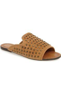 Jessica Simpson Kloe Studded Slide Sandal (Women) available at #Nordstrom