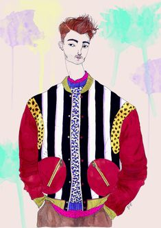 Fashionary стороны - Мода Иллюстрация Блог