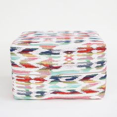 Ottoman Cube - Tiffany, Multi – Tonic Living