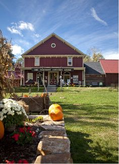 The Vermont Country Store in Rockingham on a beautiful fall day. www.VermontCountryStore.com
