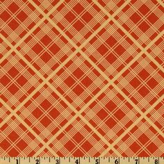 Chicopee Simple Plaid Red