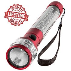Best LED Flashlight 3-in1 - Batteries Included! LIFETIME WARRANTY! Ultra Bright CREE Car Flashlight with Magnetic Base + Emergency Red Flashing Mode. Buy Now - 5 Perfect Gift Colors for Men and Women! SAFE:BRIGHT http://www.amazon.com/dp/B01095DPGQ/ref=cm_sw_r_pi_dp_a8jrwb1EM4ME2
