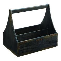 aad9e4ed4d9a98 Magnolia Home Furniture Black Wood Tool Box Magnolia Homes