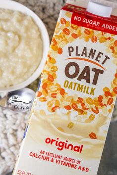 Try oatmilk in recipes, like my Easy Rice Pudding! Baking Recipes, Dessert Recipes, Desserts, Cooked Rice Recipes, Easy Rice Pudding, Sources Of Vitamin A, Leftover Rice, Plant Based, Vitamins