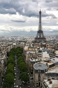 Paris, favorite city.: