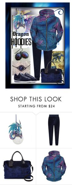 """""""Dragon Hoodie"""" by aurorasblueheaven ❤ liked on Polyvore featuring Ralph Lauren, Deux Lux, NIKE and Hoodies"""