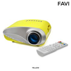 Favi Kids' LED Movie & Game HD Projector - Assorted Colors