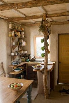 small rustic kitchen - Google Search