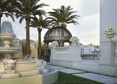 Combine classic elements to create this lovely landscape Luxurious Homes, Luxury Homes, Lots Of Windows, Floor To Ceiling Windows, Exterior Design, Decks, Light In The Dark, Taj Mahal, Roman