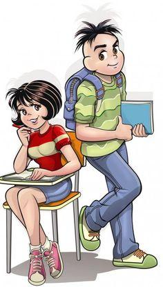 Mônica e Cebola Escola