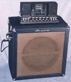 The Ampeg has been known as bassists' trustiest sidekick for generations. Today, we're looking at the golden years. Marshall Amplification, Guitar Cabinet, All About That Bass, Bass Amps, Vintage Guitars, Guitar Amp, Guitar Lessons, Music Stuff, Rigs