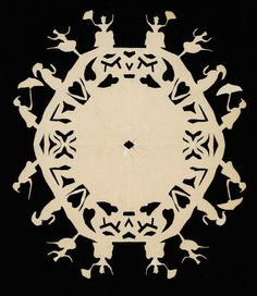 Paper clipping, Hans Christian Andersen