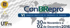 CONBREPRO - Congresso Brasileiro de Engenharia de Produção