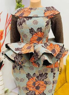 African Dresses For Kids, African Fashion Designers, Latest African Fashion Dresses, African Dresses For Women, African Print Fashion, Africa Fashion, African Attire, African Print Dress Designs, Blouse Styles
