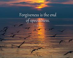 Forgiveness is the end of specialness. ~ A Course in Miracles #acim  https://www.facebook.com/AwakeningtoLoveACIM/photos/a.563611800452092.1073741827.563608800452392/683349201811684/?type=1&theater